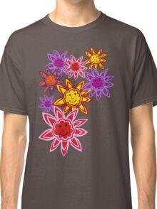 Happy Flowers Classic T-Shirt