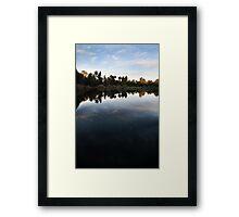Mount Barker Wetlands, South Australia Framed Print