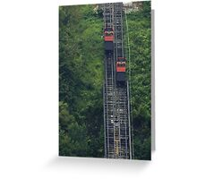 Pittsburgh Incline Greeting Card