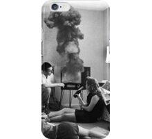 SOMETHING'S WRONG ... iPhone Case/Skin