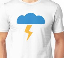 Thunderstorm lightning Unisex T-Shirt