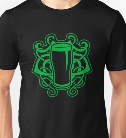 Celtic Pint Of Beer Unisex T-Shirt