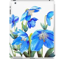 Himalayan Blue Poppies iPad Case/Skin