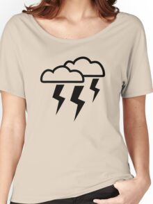 Clouds lightning Women's Relaxed Fit T-Shirt