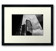 They blocked out the sun with their greed and corruption Framed Print