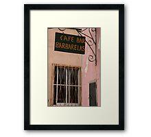 Barbarelas Framed Print