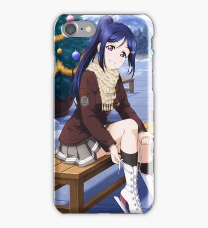 Aqours Kanan Christmas SSR Unidolized iPhone Case/Skin