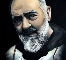 Saint Pio from Pietrelcina by Ivan Pili