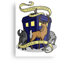 The Marauders Have The Phonebox Metal Print