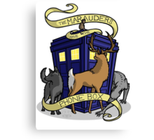 The Marauders Have The Phonebox Canvas Print