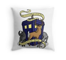 The Marauders Have The Phonebox Throw Pillow