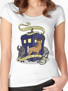 The Marauders Have The Phonebox Women's Fitted Scoop T-Shirt