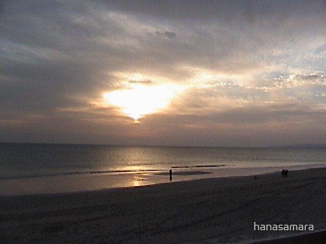 sunset by hanasamara
