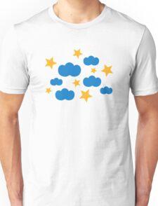 Clouds stars Unisex T-Shirt