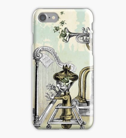 The Tinkerbot Clockwork Band iPhone Case/Skin