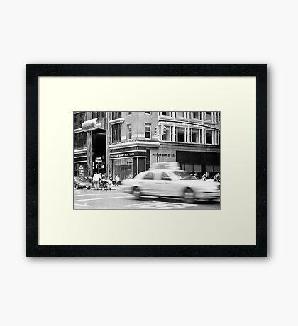 Gotham Bank Framed Print