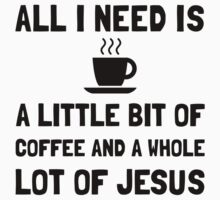 Coffee And Jesus Kids Clothes