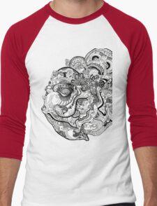 Insanity of Life Men's Baseball ¾ T-Shirt