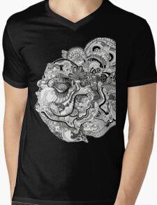 Insanity of Life Mens V-Neck T-Shirt