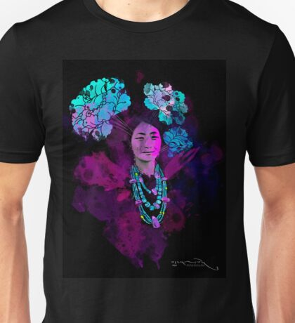 Tibetan Prints (Achi Drogmo #1) Unisex T-Shirt