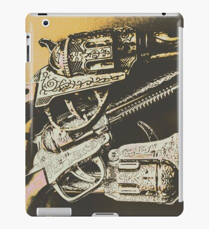 Sheriff guns iPad Case/Skin