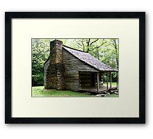 Carter Shields Cabin VI Framed Print