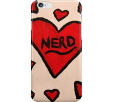 Nerd Love  iPhone Case/Skin