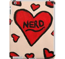 Nerd Love  iPad Case/Skin