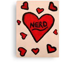 Nerd Love  Canvas Print