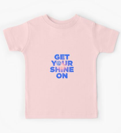 VW Get your shine on Kids Tee