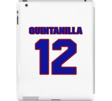National baseball player Omar Quintanilla jersey 12 iPad Case/Skin