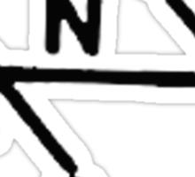 VW Shift pattern Sticker