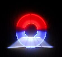 3D Neon Tunnel by Terry Best