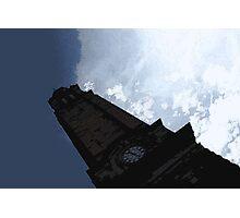 Looking up at Edinburgh Photographic Print