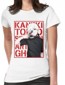 Ken Kaneki v2 Womens Fitted T-Shirt
