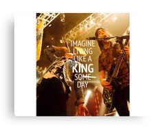 King For a Day // Pierce The Veil Canvas Print