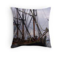 HMS Bounty Throw Pillow