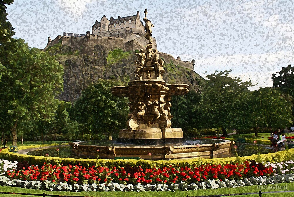 Edinburgh Castle by njonesford