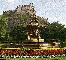 Edinburgh Castle by njonesford