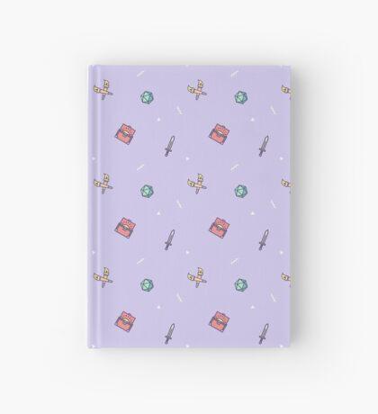 Mini Dungeon Crawler - Purple Hardcover Journal