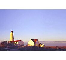Lighthouse at Sunrise Photographic Print