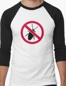 No Cockroach Men's Baseball ¾ T-Shirt