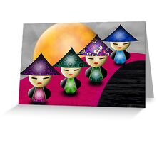 Inner Child - Little China Dolls Greeting Card