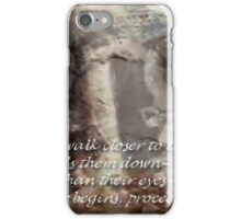 ~closer to the ground~ (snippet) iPhone Case/Skin