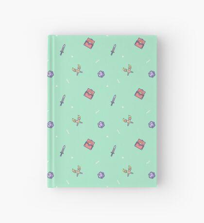 Mini Dungeon Crawler - Green Hardcover Journal