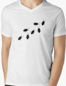 Cockroaches Mens V-Neck T-Shirt
