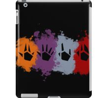 Prime Beams Splatter (Transparent Symbols) iPad Case/Skin
