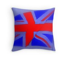 Flourescent Flag Throw Pillow