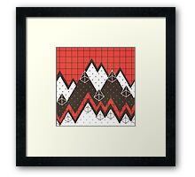 Moutains 2 Framed Print