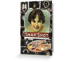 Snaphot(or The Art Of Drawing Without An Eraser) Greeting Card